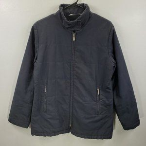 Burberry Men's Quilted Full zip Wool Lined Jacket